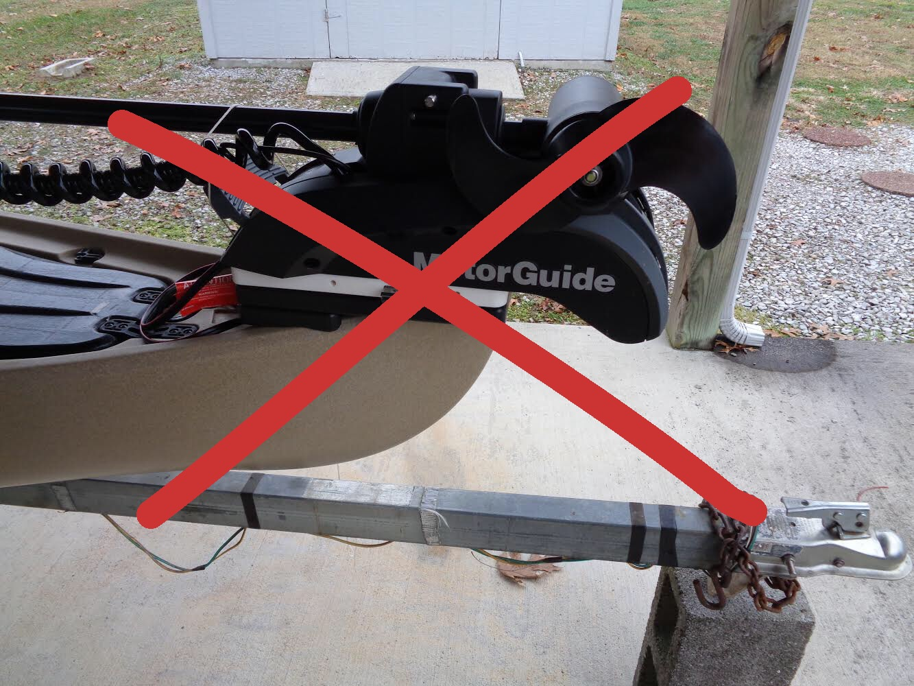 Why You Shouldn't Put an Electric Motor On Your Kayak