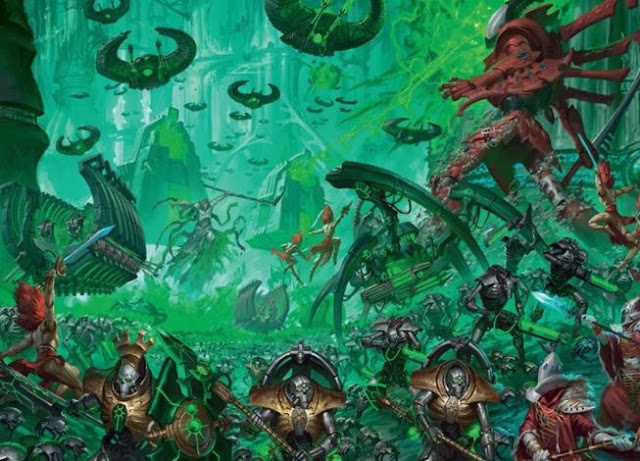 Necron Codex + Necron Start Collecting Box Set is Now Up for Pre-Orders... With Images