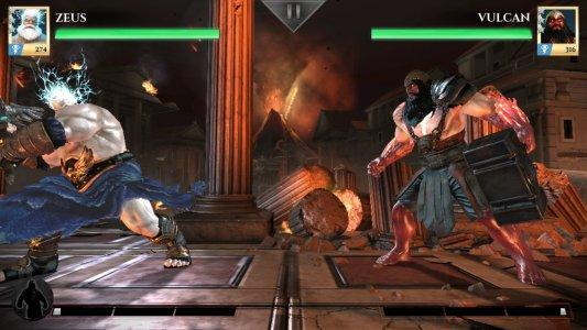 Tampilan Game Gods of Rome