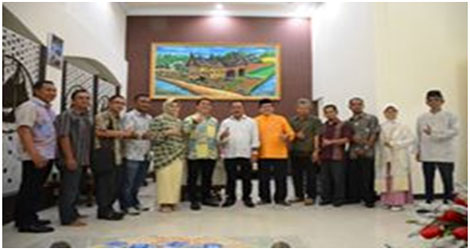 Wakil Walikota Makasar Syamsu Rizal Undang  IKM Sapayuang.