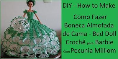 Como Fazer Boneca Almofada de Cama Bed Doll Passo a Passo Com Pecunia Milliom. Nova Série de Vídeos DIY 1