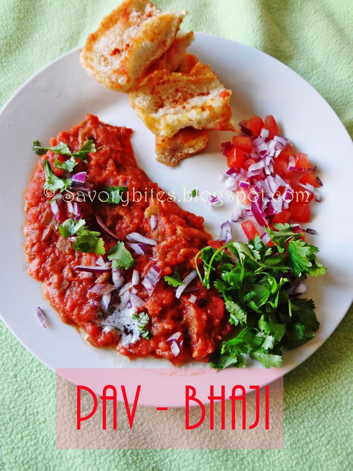 Bombay Pav Bhaji Street Food Vegetarian