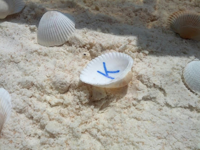 Coconut cloud dough sensory bin
