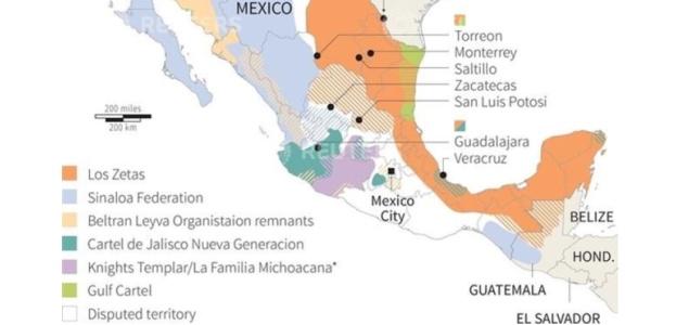 ¿Cómo se reparten Sinaloa los cárteles?