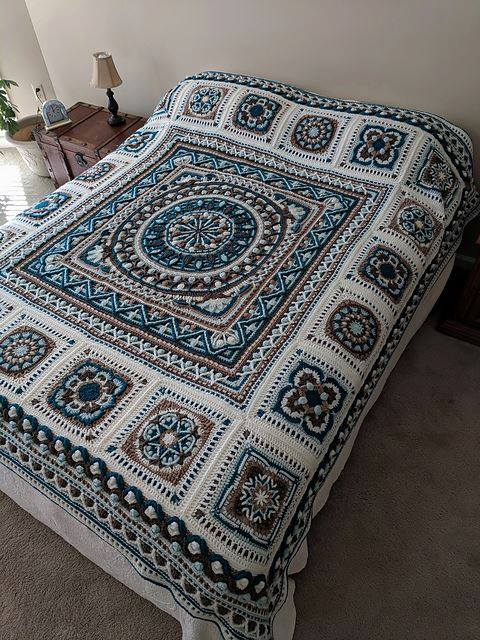 Winter Blanket Crochet