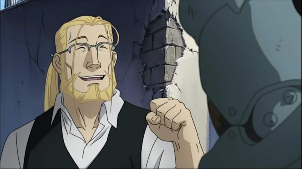 van hohenheim from fullmetal alchemist anime
