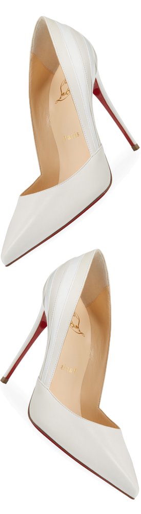 Christian Louboutin Super Point-Toe Red Sole Pumps
