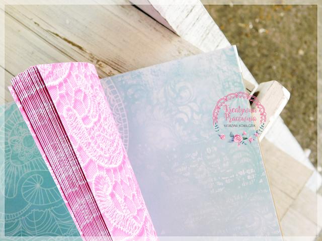 album ciążowy, scrapbooking, handmade