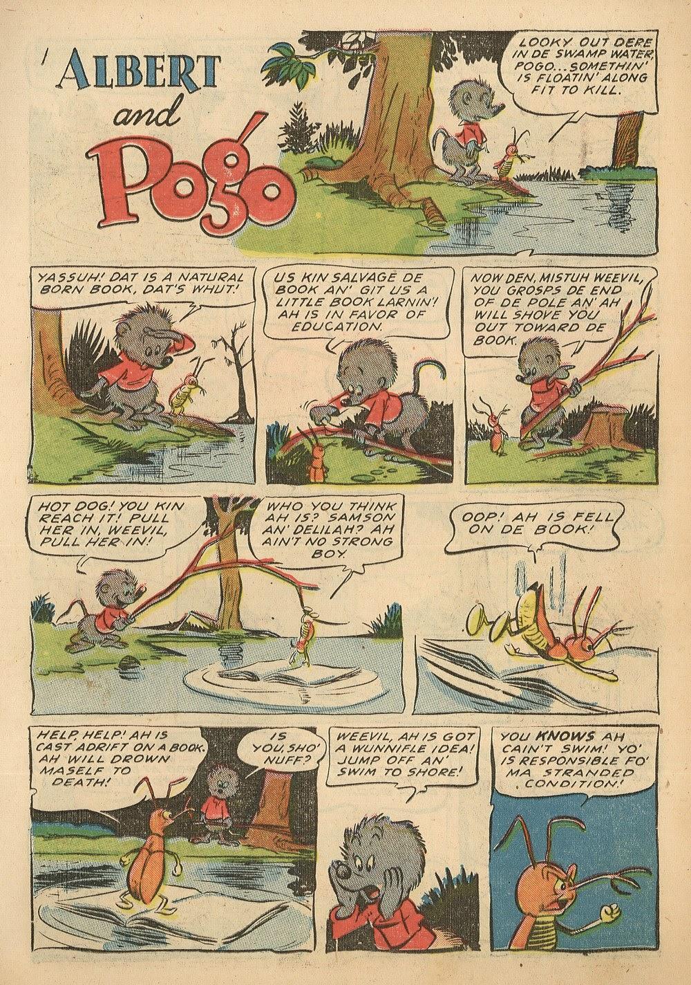 Read online Animal Comics comic -  Issue #18 - 11
