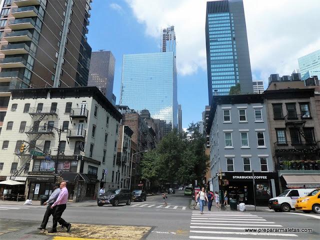 viajar a Nueva York, organización