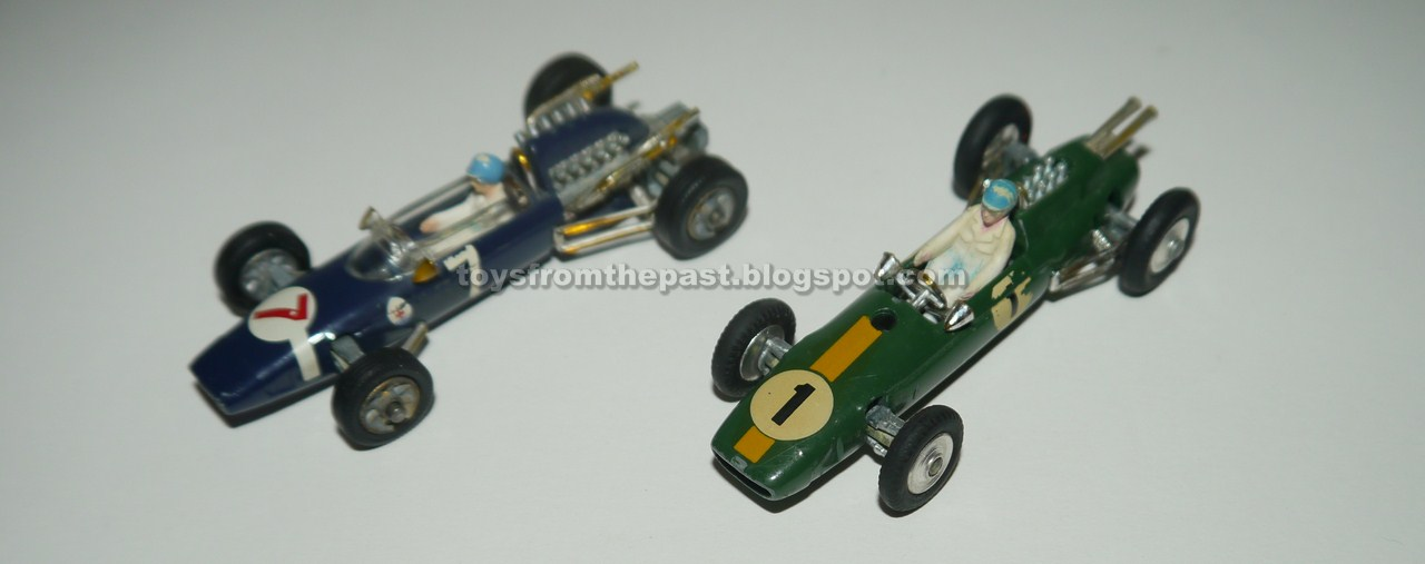 89ac6fbe25b7 Toys from the Past   760 CORGI – LOTUS-CLIMAX FORMULA 1 and COOPER ...