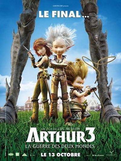 Arthur 3 y la Guerra de los Mundos DVDRip Español Latino Descargar 1 Link