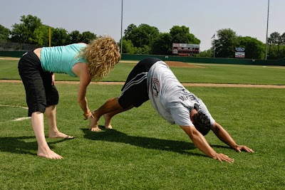 kids yoga daily from ouch to om more teen athletes