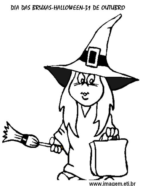 Atividades Dia Das Bruxas Halloween Exercicios Desenhos Colorir