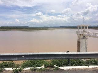 Chuva de 170mm em cidade do Sertão faz açude que estava seco se recuperar e acumular muita água