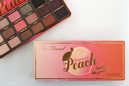 Revue & Makeup | La Sweet Peach de Too Faced !