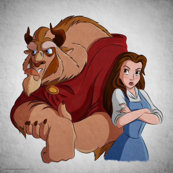My Two Cents: Beauty And The Beast Relationship Arguments