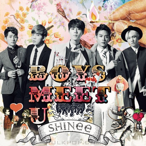 SHINee – Boys Meet U (Japanese) (FLAC + ITUNES PLUS AAC M4A)