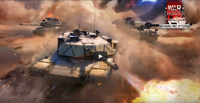 WAR THUNDER  Actualización 1.77 Advancing Storm