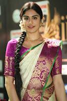 Adah Sharma looks super cute in Saree at IIFA Utsavam Awards 008.JPG