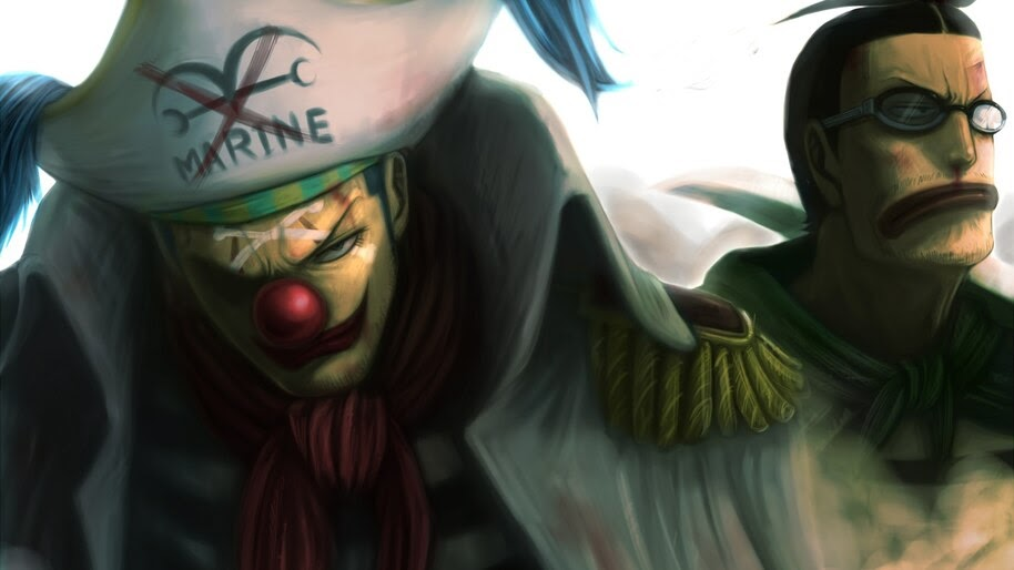 Buggy, The Clown, Mr Clay, One Piece, 4K, #6.98