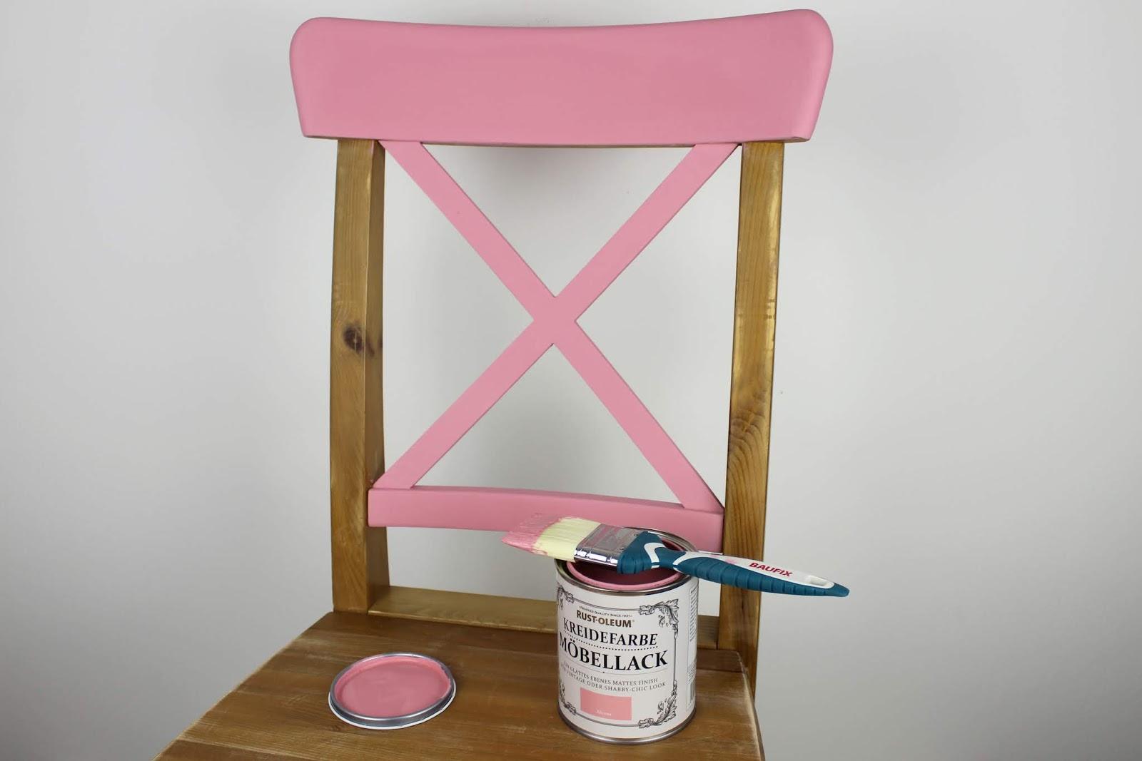 DIY: Alte Möbel aufarbeiten und neu streichen mit Kreidefarbe von
