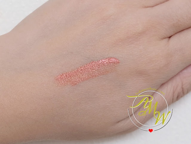 a swatch photo of Sleek MakeUP Metallic Matte Lip Cream in Copperplate Review