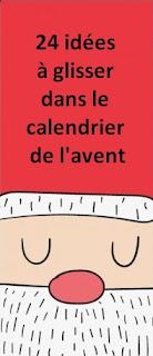calendrier avent idées