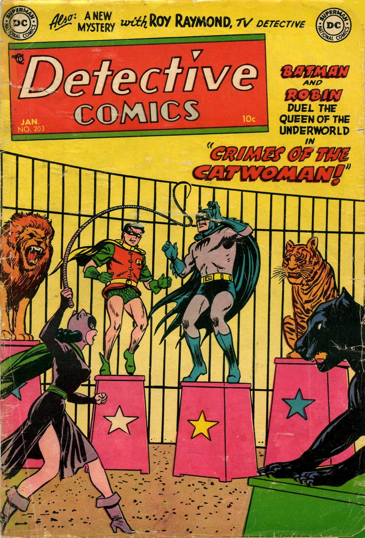 Read online Detective Comics (1937) comic -  Issue #203 - 1
