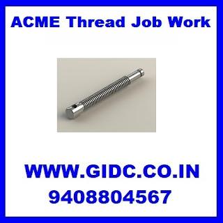 ACME Thread Job Work