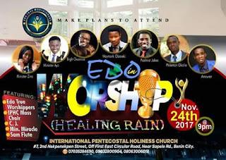 Edo true worshippers concert
