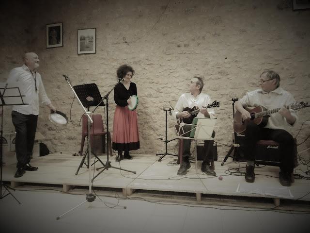 4 artistes en concert à Molières, malooka