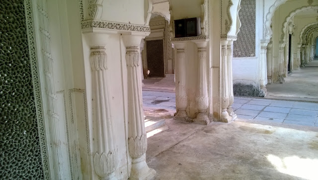 Paigah Tombs Walls View