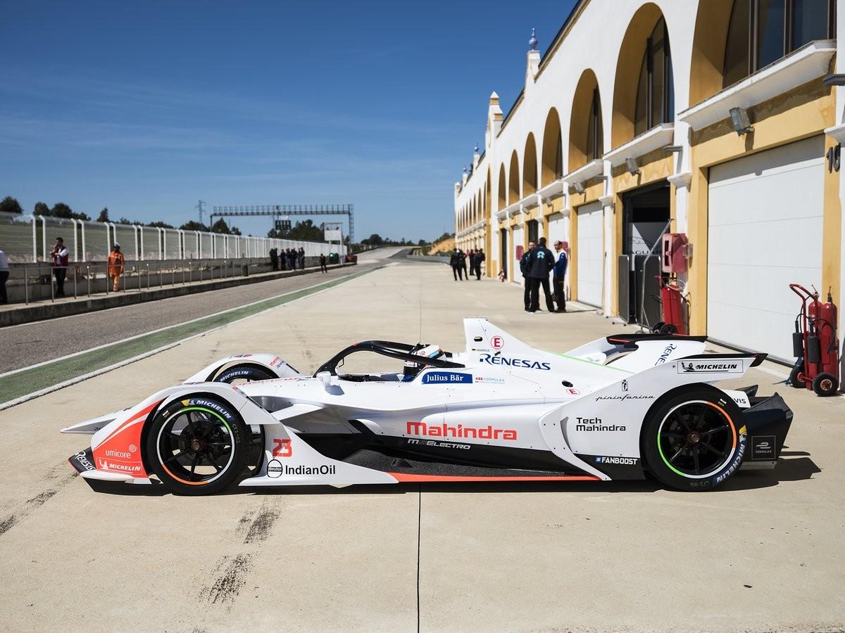 Circuito Monteblanco : The new generation of formula e cars premieres in circuito