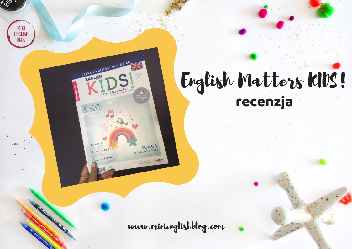 English Matters KIDS! - recenzja