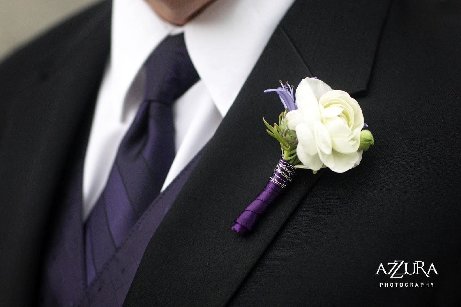 lavender boutonniere - photo #4