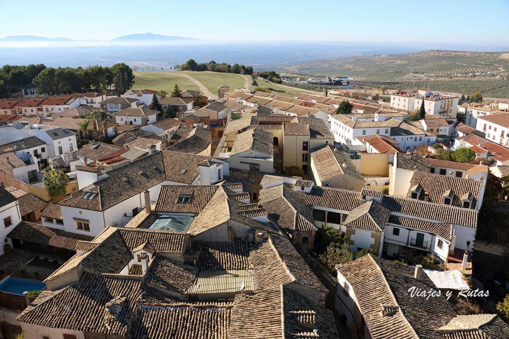 Vistas desde la Catedral de Baeza, Jaén