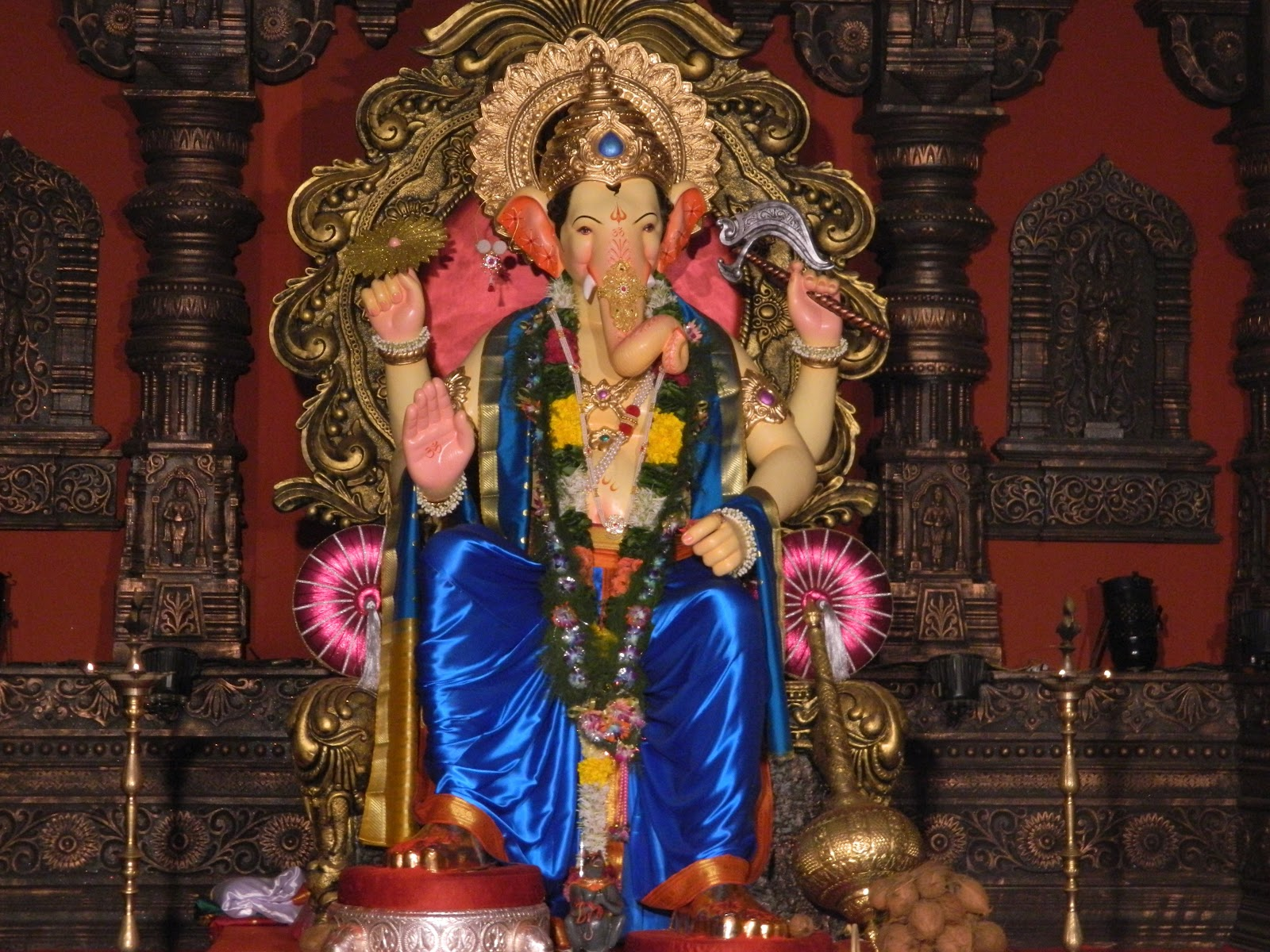 Lord Ganesha Wallpapers Hd For Windows 7 Hare Krishna Shri Ganesh Wallpaper 7