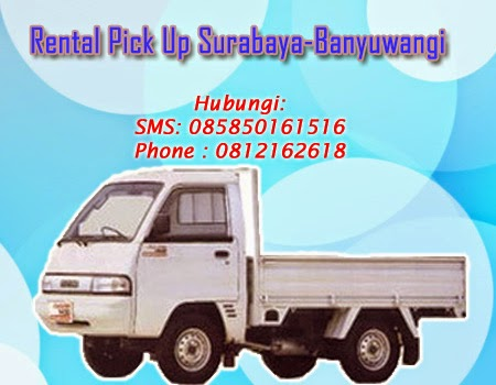 Rental Pick Up Zebra Surabaya-Banyuwangi