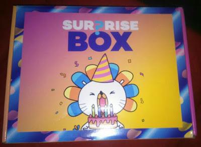 Kejutan yang ada di dalam Surprise Box Lazada Ver2