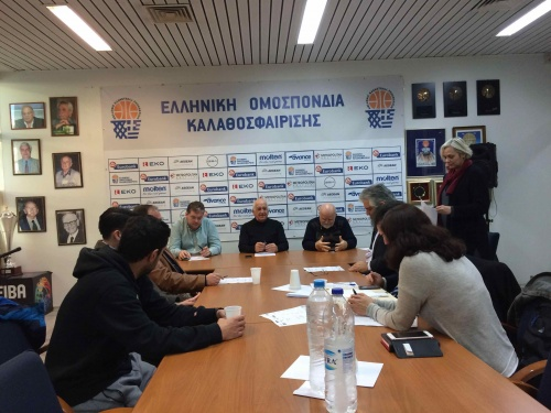 Τα ζευγάρια του Final Four του κυπέλλου Ελλάδας γυναικών-Τι δήλωσε ο Αριστείδης Γολέμης-Οι διαπιστεύσεις των δημοσιογράφων