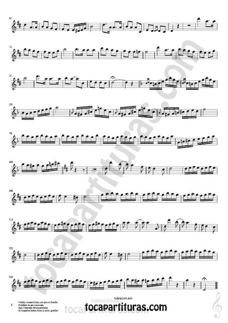 2  Saxofón Alto y Sax Barítono Partitura de Czardas Sheet Music for Alto and Baritone Saxophone Music Scores