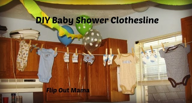 Flip Out Mama How To Have An Awesome Baby Shower For Cheap #Baby