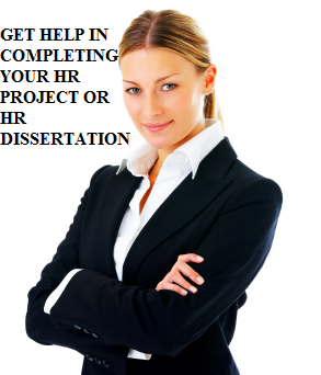 Dissertation project on hr