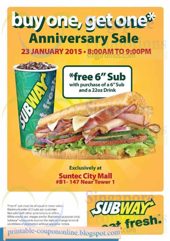 Subway coupons for mall of america / Office max coupons september 2018