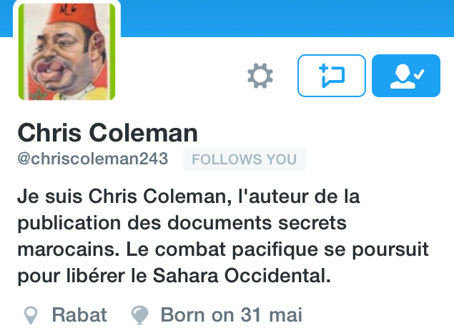 La cuenta de Twitter de Chris Coleman, suspendida de nuevo