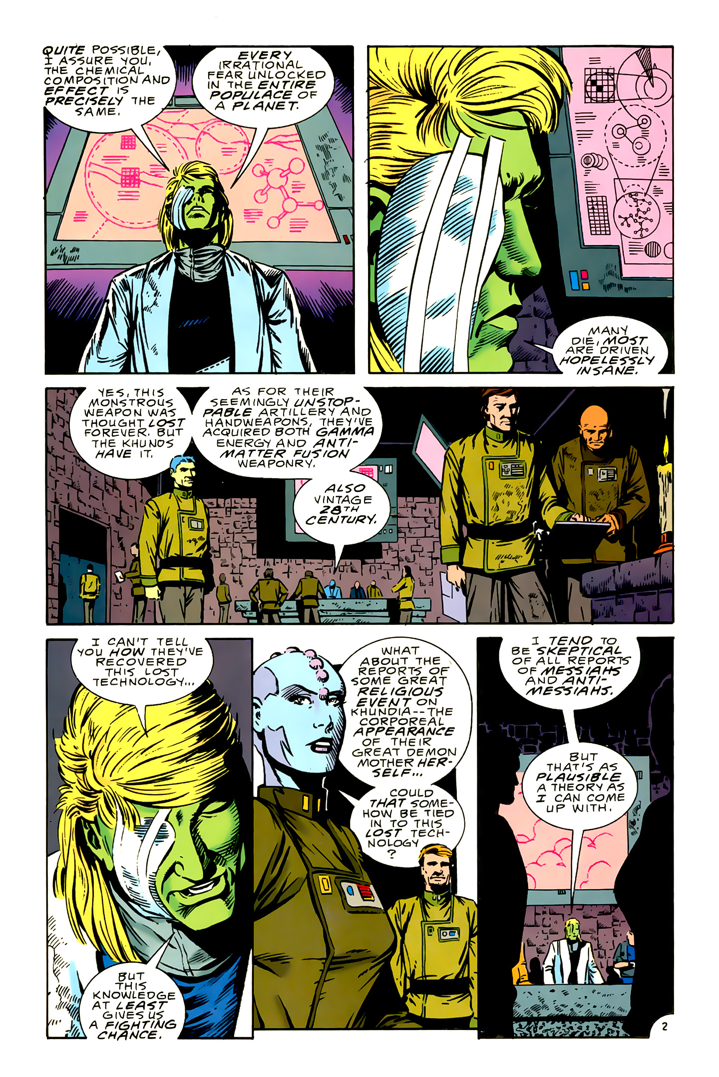 Legion of Super-Heroes (1989) 16 Page 2