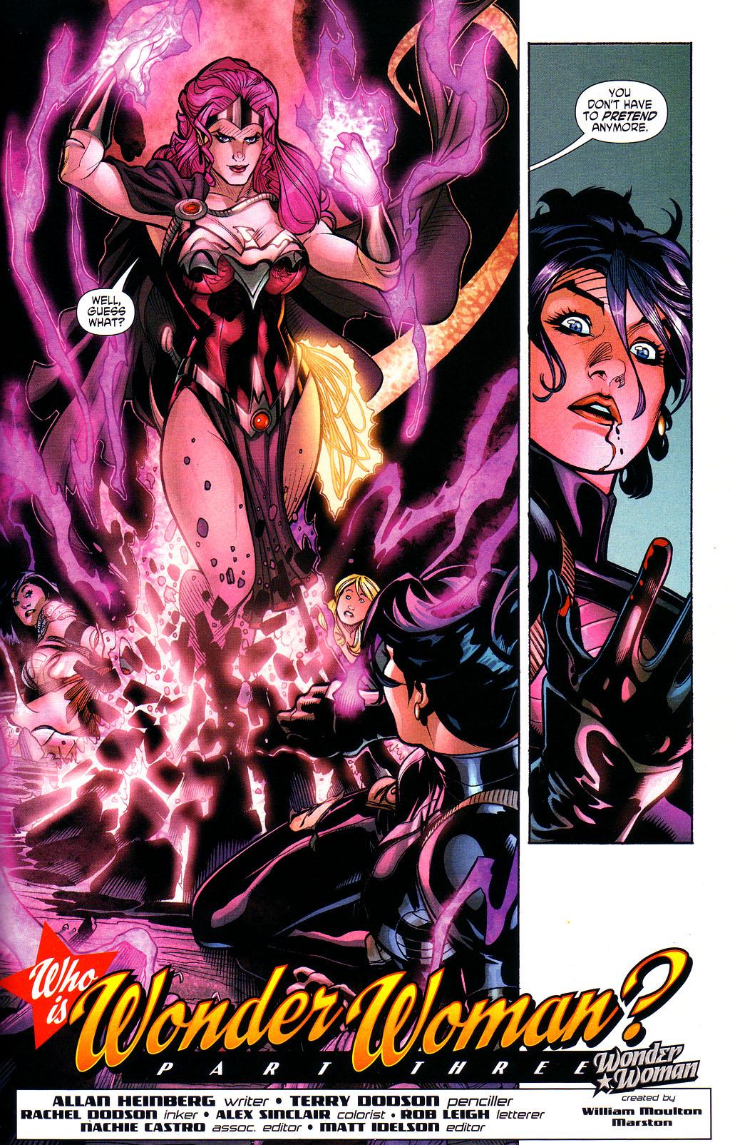 Read online Wonder Woman (2006) comic -  Issue #3 - 21