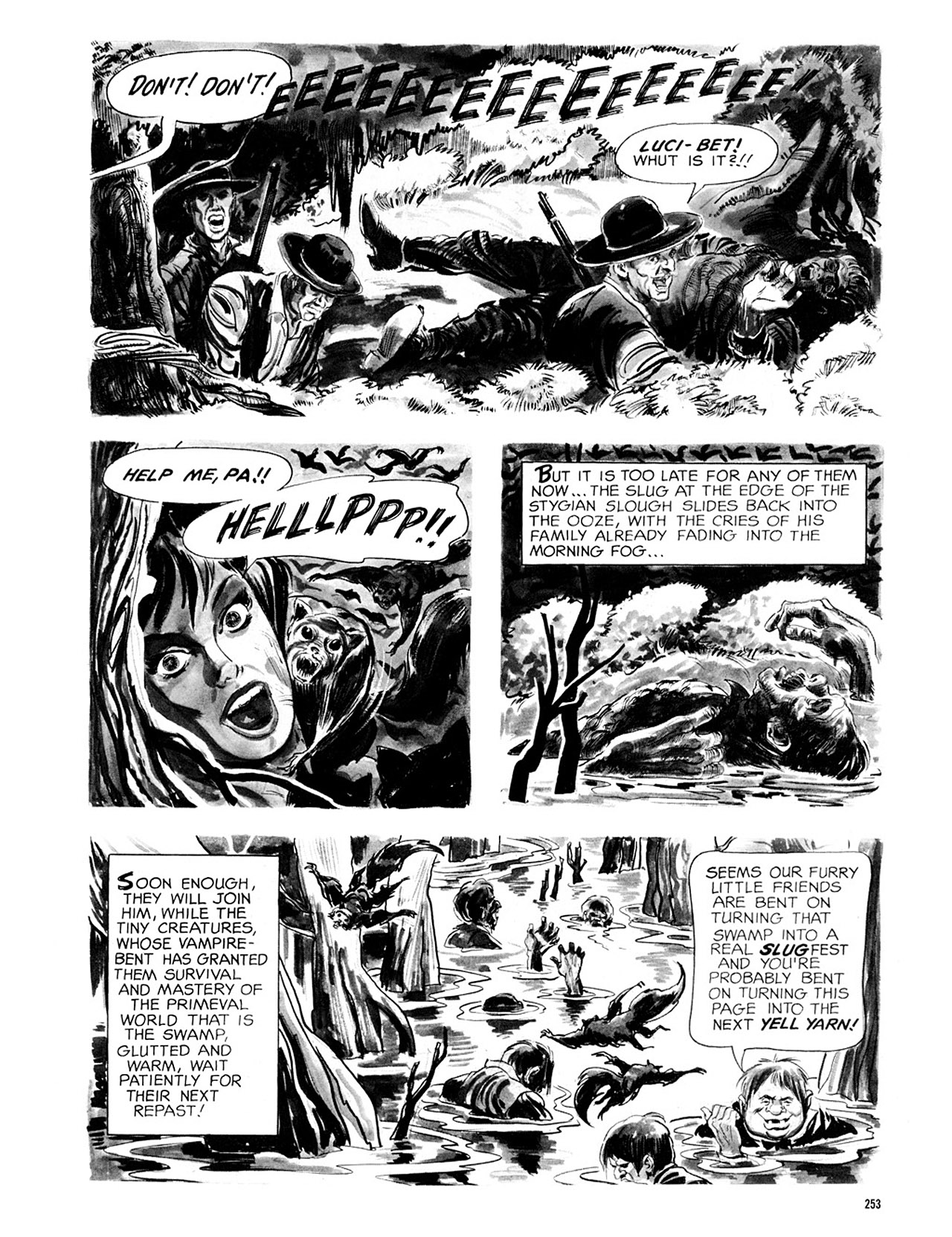 Read online Eerie Archives comic -  Issue # TPB 2 - 254