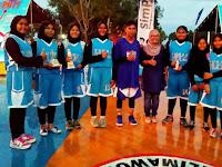 Tim Basket MTsN Martapura Raih Juara 2 dan 3 Bupati Cup